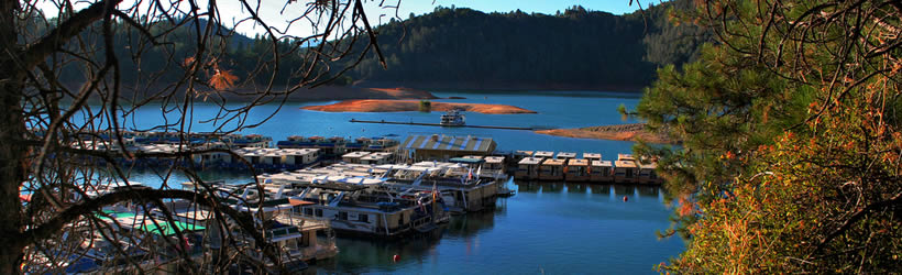 Houseboating Lake Shasta
