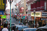 Bustling Chinatown