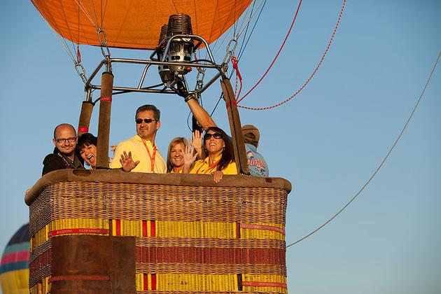 Hot Air Ballooning in Temecula