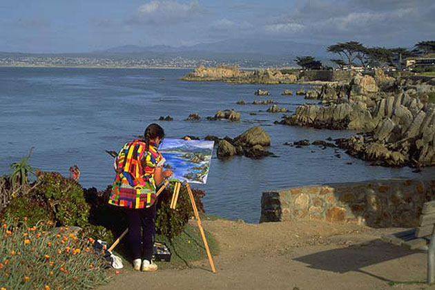 Pacific Grove Painter