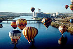 Balloons over the river in Laughlin
