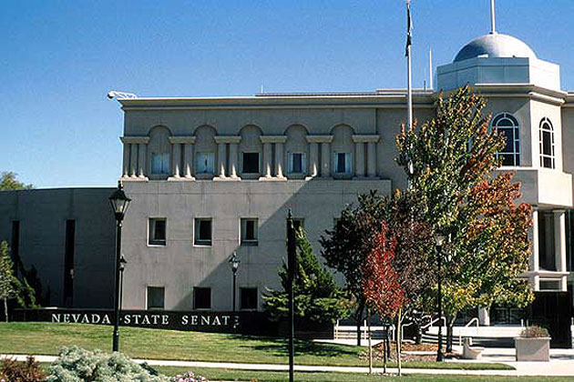 Nevada Legislative Building in Carson City