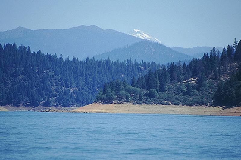 Trinity Lake Boating Amp Fishing Information