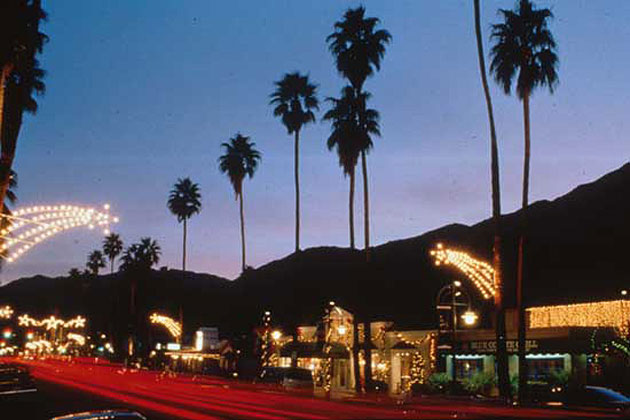 Palm Springs at Night